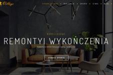 Strona internetowa – remonty i wykończenia