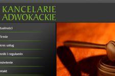 Strona dla kancelarii adwokackiej
